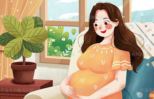 孕晚期胳膊手上出现白斑点